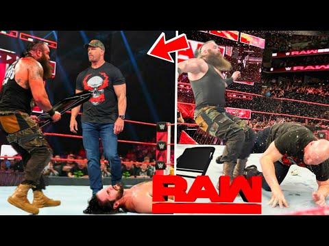 """Stone Cold"" Steve Austin Attacking Braun Strowman ? WWE Raw 09 September 2019 Highlights !"