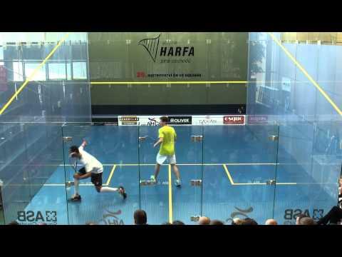 MČR Squash 2012 – Petr Martin vs. Daniel Mekbib 3:2