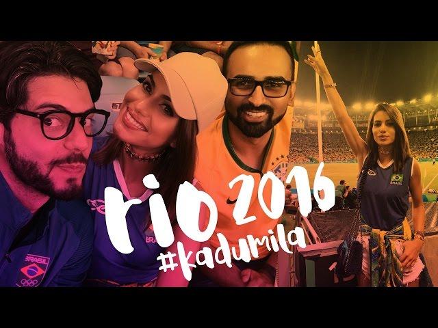 Vlog: #KaduMila Olimpiadas Rio 2016 - Super Vaidosa