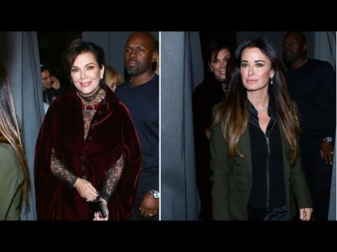 Kris Jenner And BoyToy Corey Take Attention Away From Kim And Kanye By Dining Out