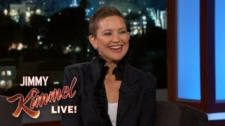 Kate Hudson on Shaving Her Head