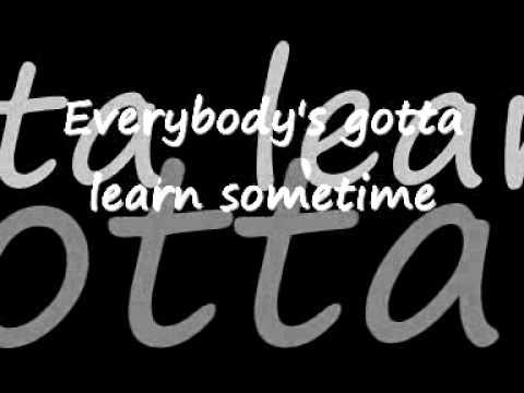 Beck - Everybody's Gotta Learn Sometime (Lyrics)