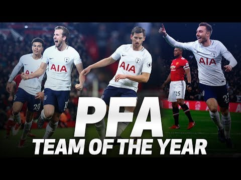 Video: HARRY KANE, CHRISTIAN ERIKSEN & JAN VERTONGHEN | PFA TEAM OF THE YEAR 2017/2018