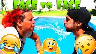Video FACE TO FACE CHISTES CON AGUA EN LA BOCA!! MP3, 3GP, MP4, WEBM, AVI, FLV Agustus 2018