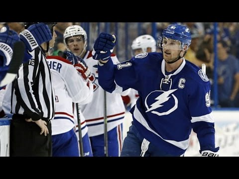 Video: Stamkos scores hat trick vs Montreal