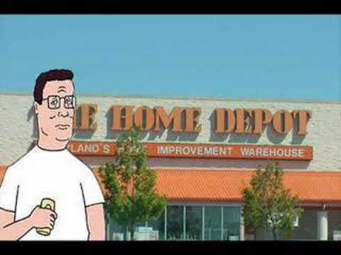 Hank Hill Calls Home Depot