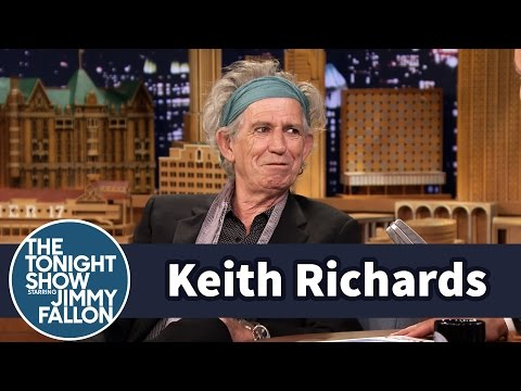 Keith - Jimmy chats with Keith Richards about the inspiration behind his children's book, Gus & Me: The Story of My Granddad and My First Guitar, and how Keith becam...