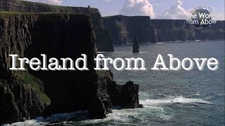 Some beautiful landscapes of the Republic of Ireland and Northern Ireland as seen from the air.