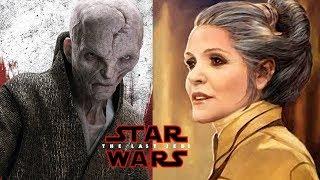 Video Snoke Does Not Capture Leia In The Last Jedi! STAR WARS MP3, 3GP, MP4, WEBM, AVI, FLV Oktober 2017