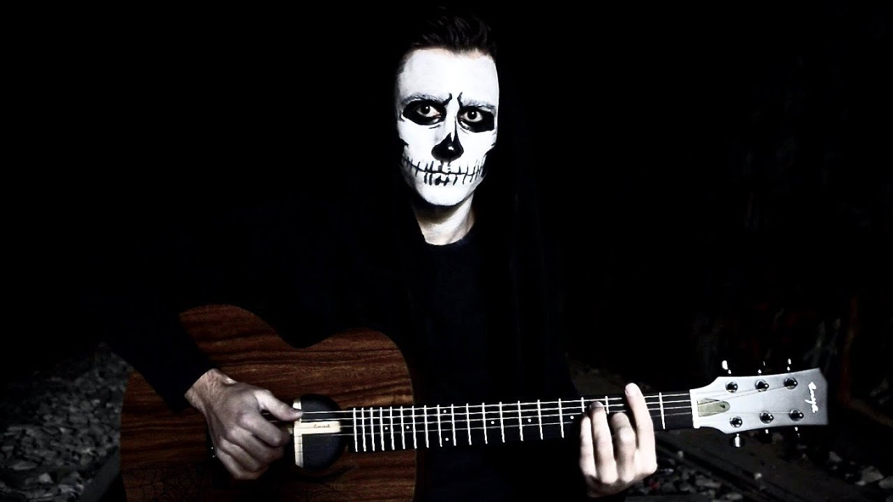 SPOOKY SCARY ACOUSTIC GUITAR