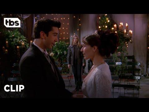Friends: Rachel Crashes Ross' Wedding (Season 4 Clip)   TBS
