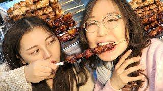 Video KOREAN STREET FOOD at Urim Market (ft Heyitsfeiii) MP3, 3GP, MP4, WEBM, AVI, FLV Juli 2019