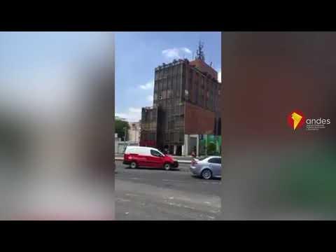 México: Sismo de 7,1 derriba edificios en la Ciudad de México (видео)