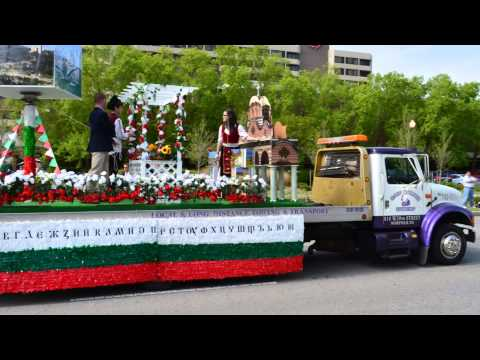 Norfolk NATO Festival - 60th Annual Parade of Nations 2013 - Bulgarian Float