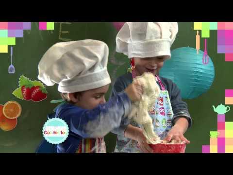 Cocineritos, figuras con masa