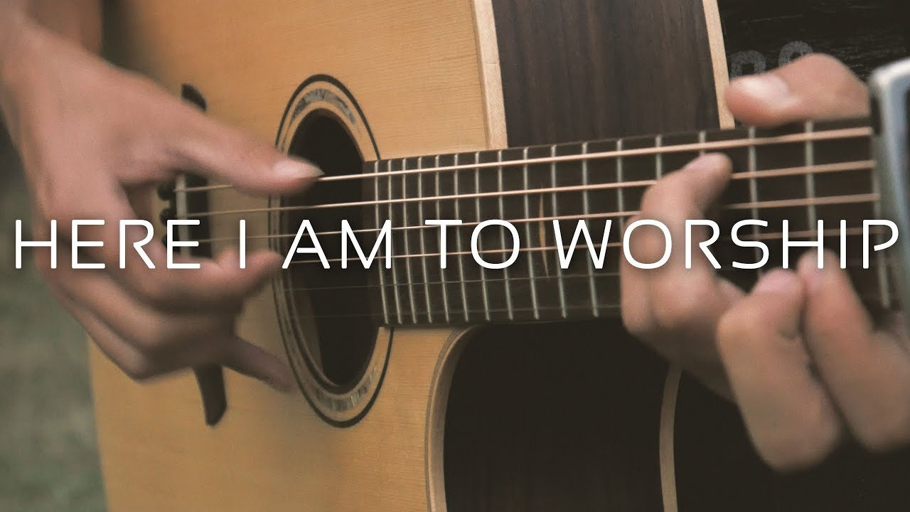 Here I Am To Worship – Tim Hughes (Fingerstyle Guitar Cover by Albert Gyorfi) [+TABS]