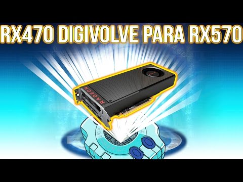 TRANSFORMANDO RX470 EM RX570!!! TUTORIAL!! ‹ ChipArt ›