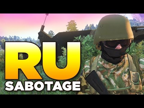 RUSSIAN SABOTAGE | ARMA 3 Zeus
