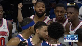 Marcus Morris Threw Down Joel Embiid They Both Got In Each Other's Face by Bleacher Report