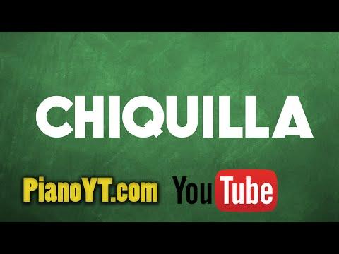 Chiquilla - Kumbia All Starz Piano Tutorial - PianoYT.com