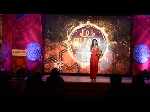 Sonali Gupta anchor hosting IDBI EVENT , LE MERIDIEN