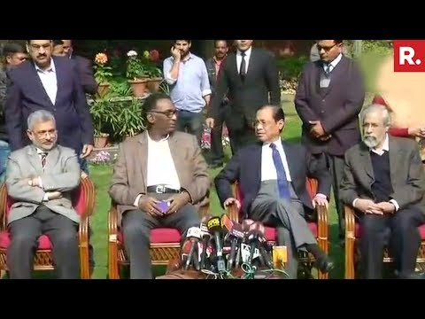 Video 4 Supreme Court Judges Speak Against The Chief Justice Of India download in MP3, 3GP, MP4, WEBM, AVI, FLV January 2017