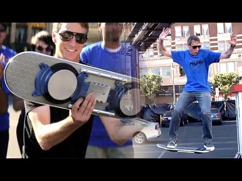 Tony - On Monday a video introducing the world to the HUVr hoverboard dropped. It went viral instantly as people drooled over the possibility of finally floating li...