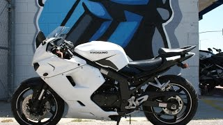 6. 2010 Hyosung GT250R Motorcycle For Sale