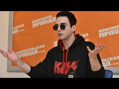 Представитель Украины на конкурсе Евровидение 2018 MELOVIN (интервью) (видео)