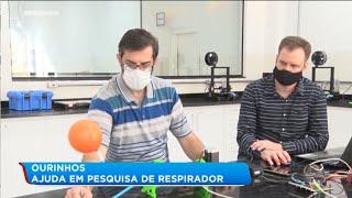 Pesquisadores desenvolvem respirador portátil
