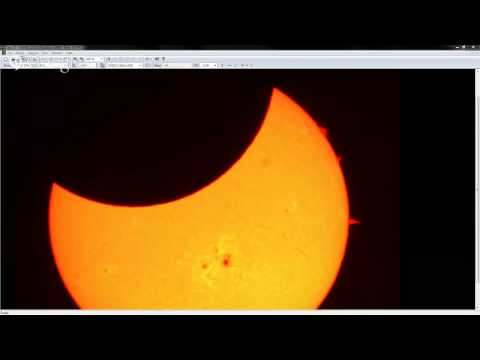 solar - Live from Celestron's Joseph A. Lupica Jr. Observatory in Torrance, CA! Focus Astronomy is providing a live video feed of today's partial solar eclipse!
