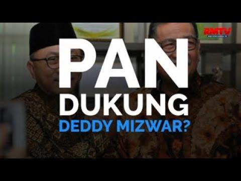 PAN Dukung Deddy Mizwar?
