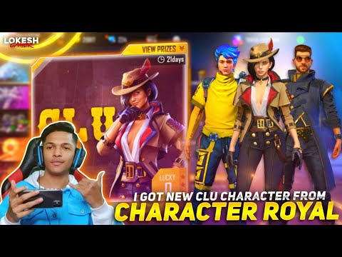 I Got New Clu Character From New Clu Luck Royale At Garena Free Fire 2020