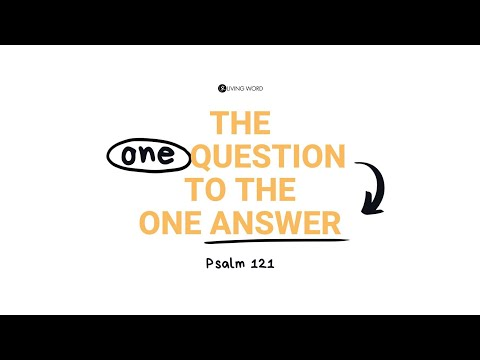 """The One Question to the One Answer - Pastor Carmelo """"Mel"""" B. Caparros II"""