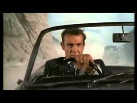 Sean Connery first movie as James Bond - Sunbeam Alpine 1962...
