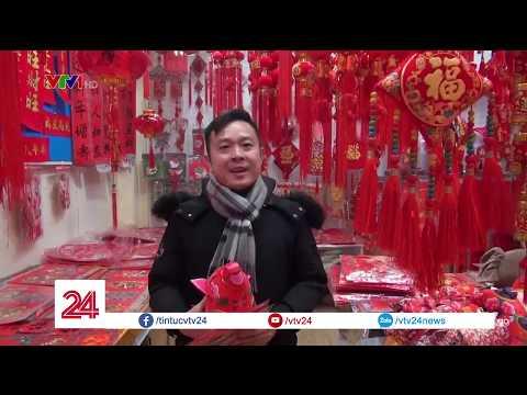 Người Trung Quốc cũng đang tranh thủ đi sắm sửa nốt những chậu hoa, những món đồ đón Tết @ vcloz.com