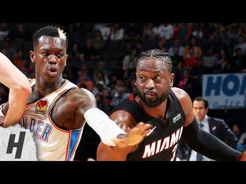 Miami Heat vs Oklahoma City Thunder - Full Game Highlights | March 18, 2019 | 2018-19 NBA Season