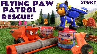 Flying Paw Patrol Rescue