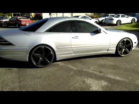 Mercedes Benz Cl600 On 22s