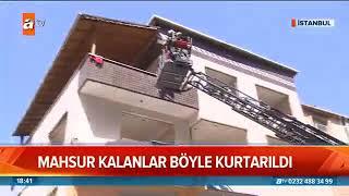Gaziosmanpaşa'da Deprem Tatbikatı - Atv