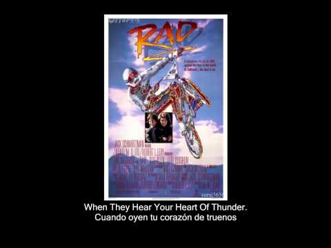 John Farnham - Thunder In Your Heart (RAD Soundtrack) [Subtitulos Castellano]