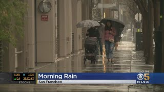 Rain Returns To Bay Area With Morning Arrival Of Latest Storm System