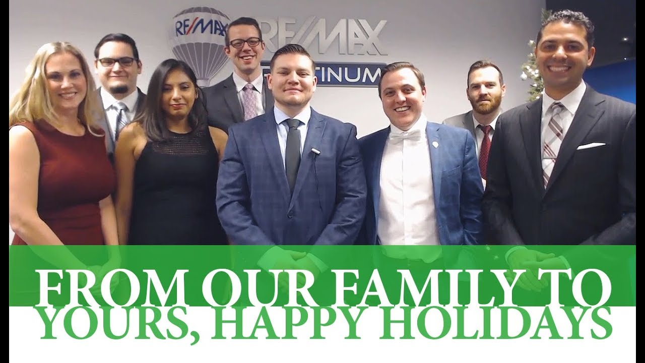 Happy Holidays From All of Us at the Salas Team