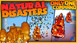 Minecraft - Natural Disasters | Only One Command! | No Mods! (Vanilla)