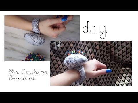DIY: Pin Cushion Bracelet / Wrist Pin Cushion Tutorial