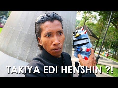 TAKIYA EDI BERUBAH JADI KAMEN RIDER ?!  GENJI INDONESIA HENSHIN !