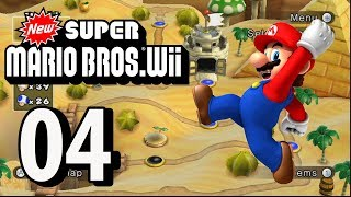 New Super Mario Bros. Wii - Part 4 (4 Player, 2018)