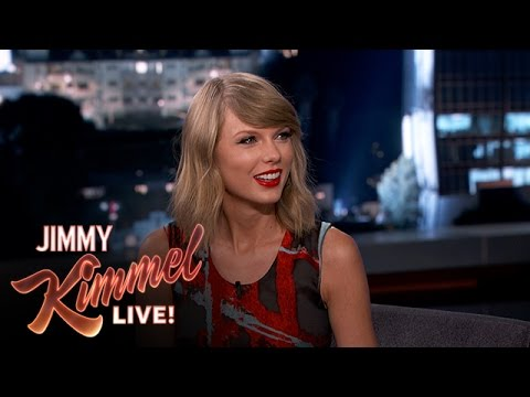 Youtube - Taylor talks about how far she went to keep her new album a secret. SUBSCRIBE to get the latest #KIMMEL: http://bit.ly/JKLSubscribe Watch the latest Mean Tweets: http://bit.ly/KimmelMeanTweets...
