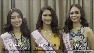 Tiara, Michelle dan Jasi (Finaslis Miss Celebrity 2016) - Cerita Cinta Pertama