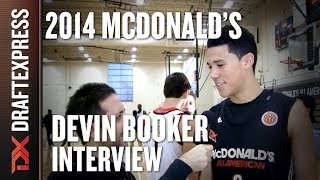 Devin Booker - 2014 McDonald's All American Game - Interview